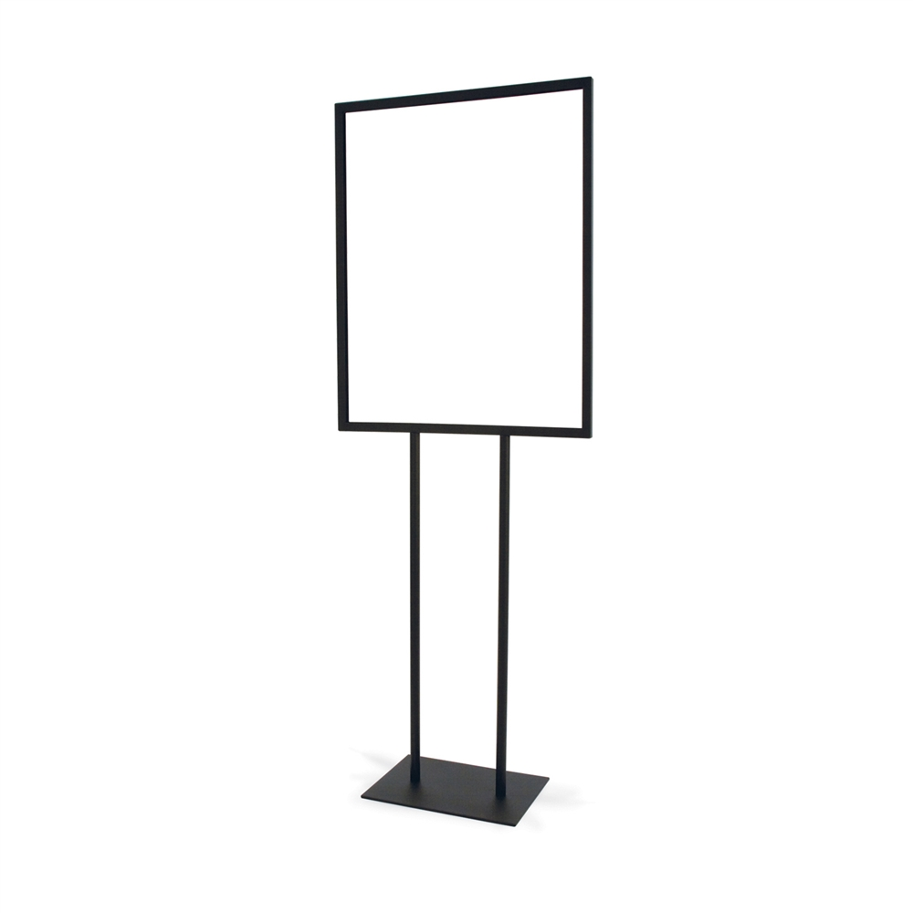 flat base standing sign holders stand up metal sign holder