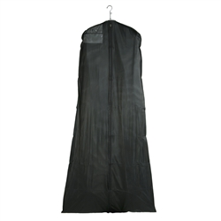 36- Black Wedding Dress Garment Bags w/ Custom Ink