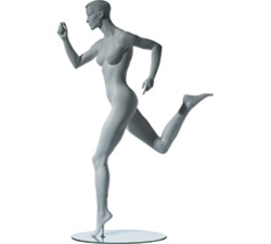 Female Leg Back Running Sports Mannequins