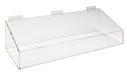 Acrylic Support Trays - Slatwall