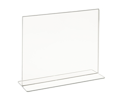 Acrylic Top Load Counter Top Sign Holder