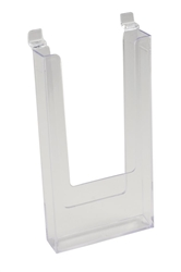 4 x 9 Acrylic Literature Holders - Slatwall