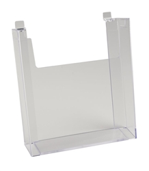 8.5 x 11 Acrylic Literature Holders - Slatwall