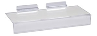 4 x 10 Styrene Sign-slot Shelves - Slatwall