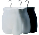 Ladies Hip Black Half Body Forms - Pkg of 12