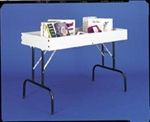 Folding Melamine Dump Table