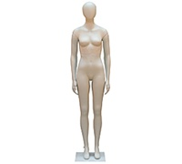 Oval Head Female Mannequins