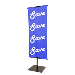Adjustable Floor Standing Banner Displayer