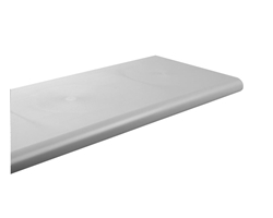 Grey Duron Injection Molded Shelf