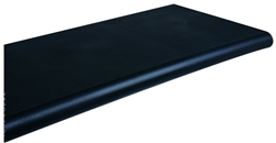Black Duron Injection Molded Shelf