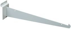 "Slatwall Brackets Knife Bracket White 12"" - Pack of 8"