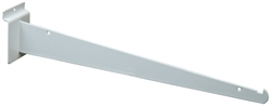 "Slatwall Brackets Knife Bracket White 14"" - Pack of 8"