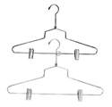 "16"" Steel Combination Hanger w/ Vinyl Cushion Clips"