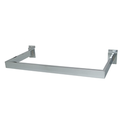 U-Shaped Rect Slatwall Hangrail Brackets
