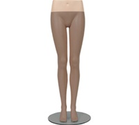 Female Mannequin Hip Blocks, Fleshtone