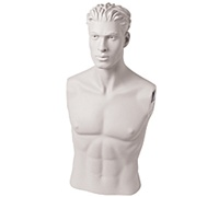 Male Mannequin Bust: Size 40