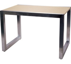 60 in. Alta Clothing Display Table