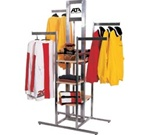 4-Way Cross Rack & Sign Holder Clothing Displays