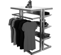 54 in. Gondola Frame Clothing Displays