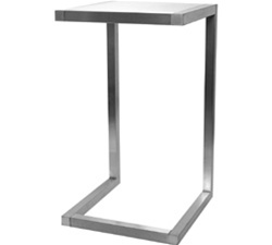 40 in. Alta Pedestal Table Frame