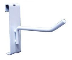White Gridwall Hooks