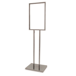 Bulletin Sign Holders with Extra Heavy Raised Base