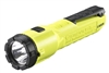 "3AA ProPolymer Dualie Laser with ""AA"" alkaline batteries. Clam - Yellow"