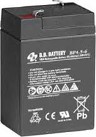B&B 6V 4.5Ah SLA Battery