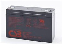 CSB 6V 12Ah SLA Battery