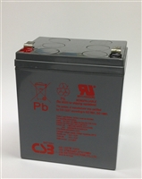 CSB 12V 27W SLA Battery 6.5Ah