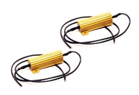 LED TAIL LIGHT LOAD RESISTORS - PAIR - FOR JEEP WRANGLER JK 2007-2018 2 & 4 DOOR & UNIVERSAL APPLICATIONS