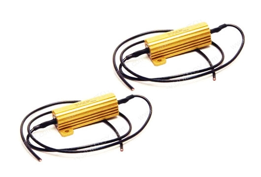 1 pair of led ultra bright white lights universal blower resistor wiring wiring a resistor for led lights #39