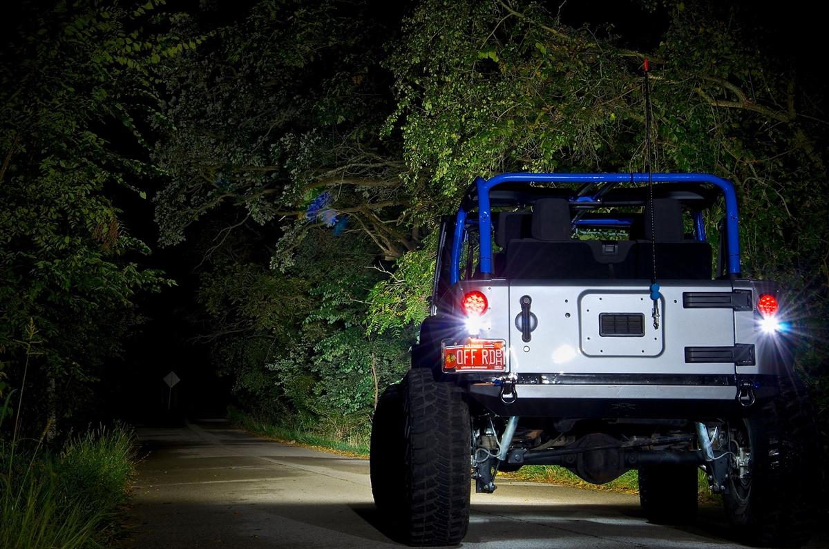 PANDEMIC Jeep JK Flush Mount Light Conversion Plates w Hardware