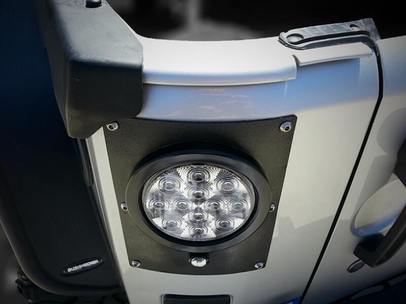 Pandemic Led Tail Light Conversion Kit Flush Mount 4