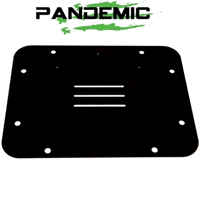 SPARE TIRE CARRIER DELETE PLATE (ALUMINUM) FOR JEEP WRANGLER JK & JKU 07-18