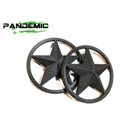 Pandemic Jeep JK Tailgate Plugs - Stars - Pair
