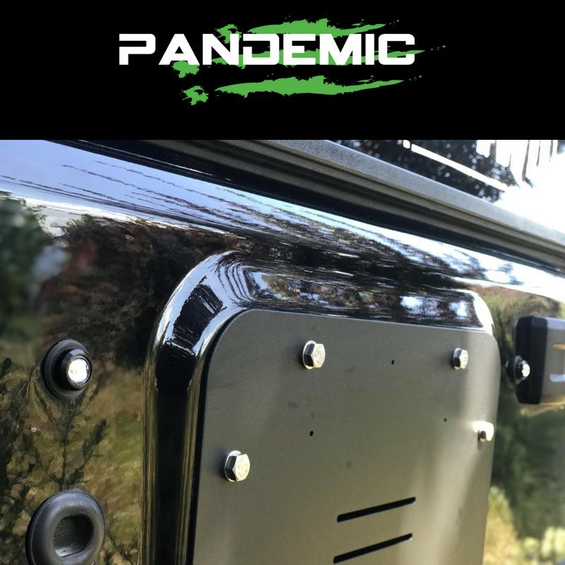 Jeep JK Tailgate Plugz - Integrated LED 3rd Brake Lights - Pair