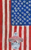 American Flag Novelty Bottle opener