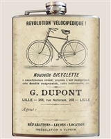 Bicyclette Flask by Trixie and Milo