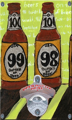 98 Bottles of Beer on the Wall Novelty Bottle Opener
