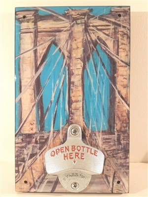 Brooklyn Bridge Novelty Bottle Opener