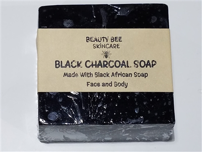 Beauty Bee Black Charcoal Soap