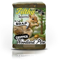 Filthy Squirrel Chipper Woodland Pin