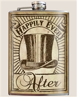 Happily Ever After Groomsmen Flask by Trixie and Milo