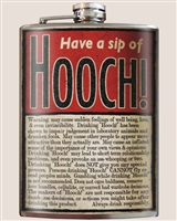 Hooch! Flask by Trixie and Milo