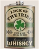 Luck of the Irish Flask by Trixie and Milo