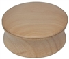 Natural Wood Shave Bowl with Lid