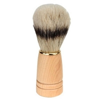 Bristle Natual  Wood Shave Brush