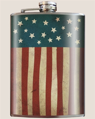 Old Glory  Flask by Trixie and Milo