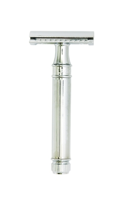 Safety Razor  Chrome Line By Edwin Jagger